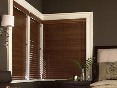 2″ Horizontal Wood Blinds